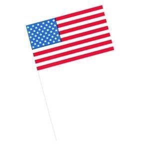 American Flag Plastic Cupcake Picks - 144 Count (American Flag Cupcake Picks)