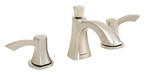 Speakman SB-1821-E-BN Tiber 8 in. Widespread Bathroom Faucet, Brushed ()