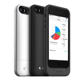 Power, protection and extra storage built into one thin case. Made for iPhone 5s/5.