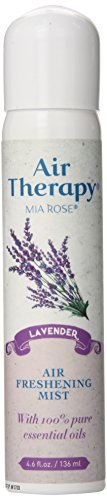 Mia Rose Therapy - Airtherapy Natural Air Freshener, Lavender, 4.6 Ounce