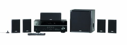 - Yamaha YHT-599UBL 5.1-Channel USB Home Theater System