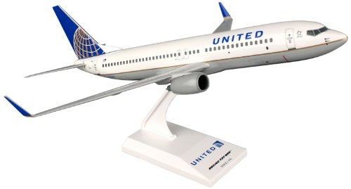 (Daron Skymarks United 737-800 Post Co Merger Livery Model Kit (1/130 Scale))