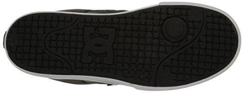 DC - Zapatillas de deporte de cuero para hombre negro