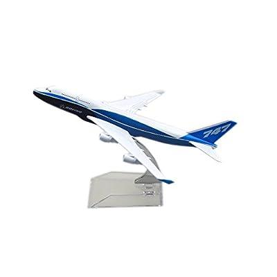 24-Hours Boeing 747 Alloy Metal Airplane Models Die-cast 1:400