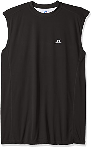 Russell Athletic Mens Big and Tall Dri-Power Contrast Back Muscle
