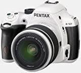 Cheap Pentax K-50 16MP Digital SLR Camera Kit with DA 18-135mm WR f3.5-5.6 Lens (White)