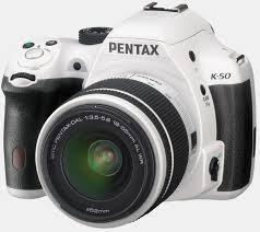 Pentax K-50 16MP Digital SLR Camera Kit with DA 18-135mm WR f3.5-5.6 Lens (White)