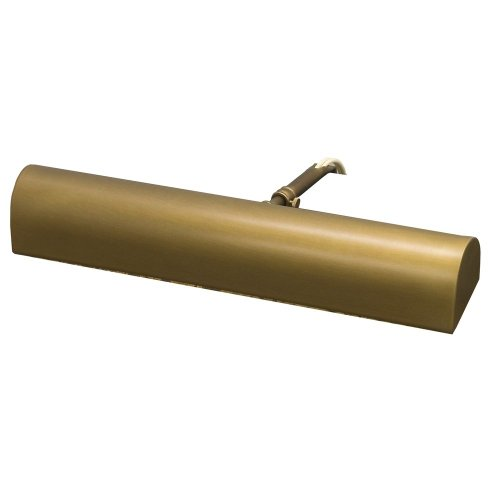 House of Troy T14-76-CA Classic Traditional 2LT 14IN Picture Light, Weathered Brass Finish