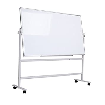 Amazon.com : ZHIDIAN Magnetic Rolling whiteboard on Wheels ...