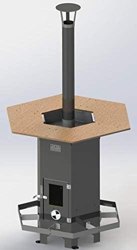 Lendner C. Outdoor - Estufa de pie con calefacción: Amazon.es: Jardín