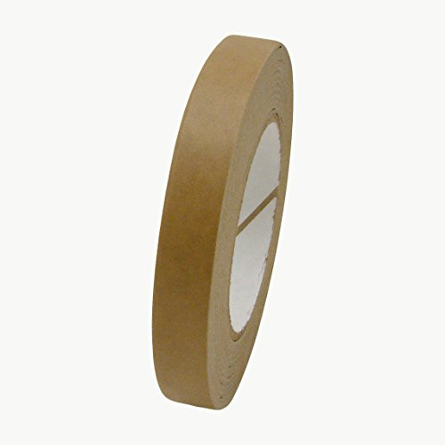 J.V. Converting FPPT-01/BRN07560 JVCC FPPT-01 Kraft Flatback Paper Packaging Tape: 3/4