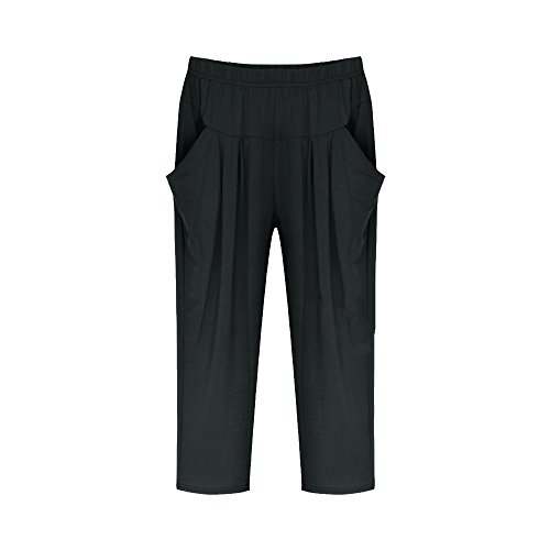 Jersey Cropped Pants - 8