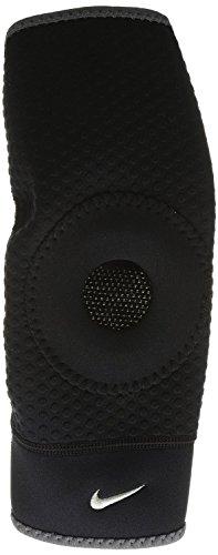 Nike Open Patella Knee Sleeve (Black/Dark Charcoal, Small)