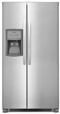 Frigidaire FFSS2325TS 33 Inch Side by Side Refrigerator with 22.1 cu. ft. Capacity, in Stainless Steel