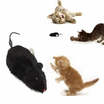 Gato de juguete de cuerda ratón de juguete del animal doméstico para ratón rata peluda: Amazon.es: Hogar