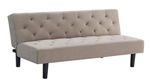 Westwood Glasgow Beige Linen 69-inch Sleeper Sofa