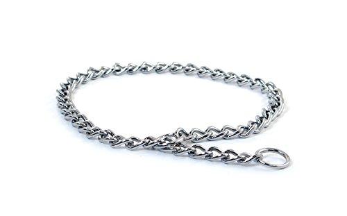 Pet Champion Choke 3mm Chain Pet Dog Collar, - Choke 22