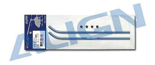 Align Skid Pipe - Yoton Accessories Trex 450 Sport V2 Skid Pipe Align H45108 Black/Blue Align trex 450 Parts with Tracking