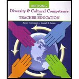 Infusing Diversity and Cultural Competence into Teacher Education, Thompson, Aaron and Cuseo, Joe, 0757599400