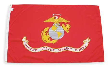 Marine Flag, 3x5 Ft by Nyl-Glo