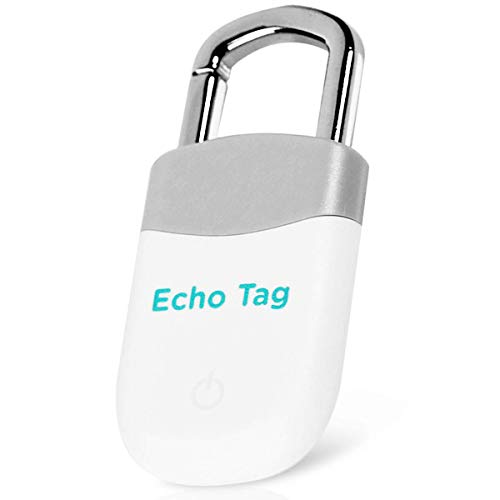 Bluetooth Key Finder Smart Tracker - Find Lost Phone, Pet, Wallet, Luggage, Keys Location - Replaceable Battery - Grey