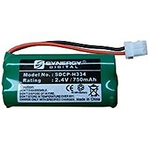 Att EL52260 Cordless Phone Battery SDCP-H334 - Ni-MH 2.4 Volt, 750 mAh, Ultra Hi-Capacity Battery - Replacement Battery for American Telecom, At&t & Vtech Cordless Phone Batteries
