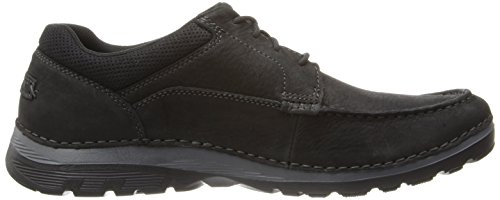 Zapatillas Rockport Hombres Zonecush Mc Toe Oxford Negras