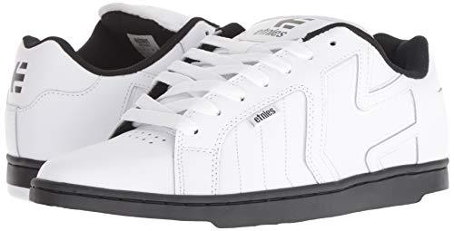 Hombre 110 Zapatillas White 2 Fader Skateboarding Para De Weiß ZqB8U