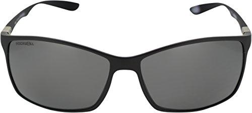 Rockwell Time Milano Sunglasses, Black Matte/Black - Sunglasses Milano
