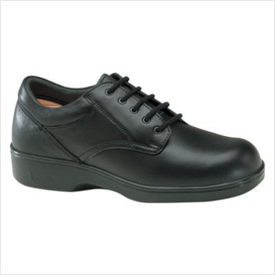 Apex Men's Lace Conform Oxford Black Full Grain 9 W US