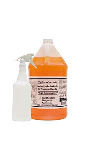 DipYourCar Dip Dissolver Gallon with FREE 32oz Bottle and Spray Nozzle by DipYourCar (Image #1)