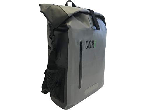 941409c3324 COR 25L Waterproof Dry Bag Backpack with Padded Laptop Sleeve (Green, 25L)