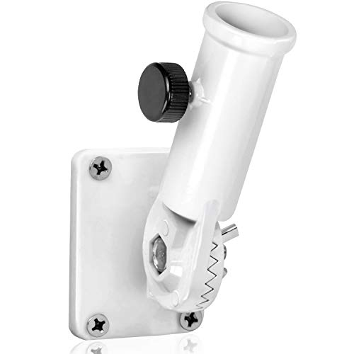 (Anley Multi-Position Flag Pole Mounting Bracket with Hardwares - Made of Aluminum - Strong and Rust Free - 1