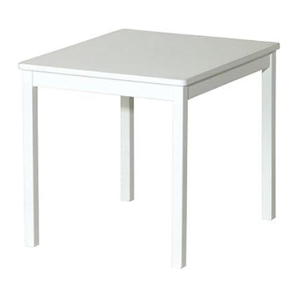 Ikea KRITTER Kindertisch in wei/ß
