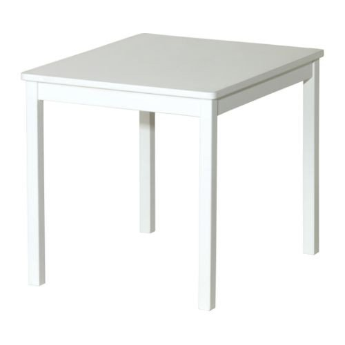 Ikea Kritter Kindertisch In Weiss Amazon De Kuche Haushalt