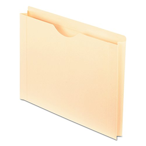 (Pendaflex File Jackets, Letter Size, Manila, Reinforced Straight-Cut Tabs with Thumb Cut, 50 per Box (22150))
