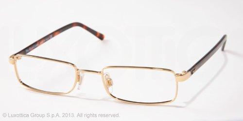 1012 Eyeglasses 9004 Shiny Gold Demo Lens 48 18 135 ()