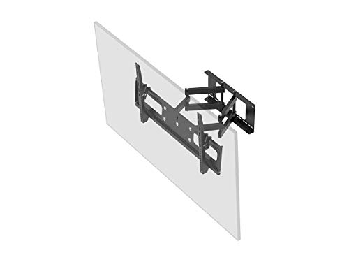 Monoprice Adjustable Tilting/Swiveling Wall Mount Bracket for LCD LED Plasma (Max 132Lbs, 37~63inch)