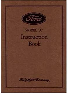 amazon com 1928 1929 1930 1931 ford model a service manual book rh amazon com Ford 600 Manual 2002 Ford Expedition Owner's Manual