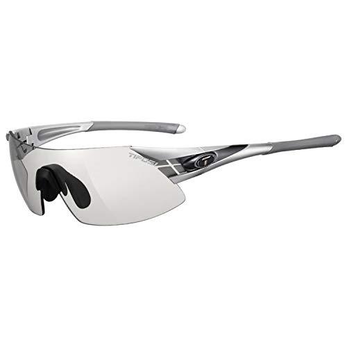 Tifosi Podium Xc Shield Sunglasses, Silver/Gunmetal, 122 mm