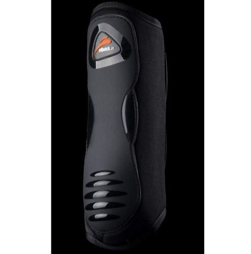 Black S Black S EQUICK eKur Luxury Front Dressage Gaiter