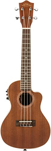 Lanikai MA-CEC Electric Acoustic Cutaway Concert Ukulele in Mahogany by Lanikai