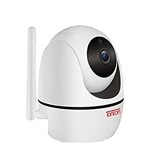 Tonton 1080P Full HD Wireless Indoor WiFi Security IP Camera,Pan Tilt Zoom Home Video Monitor with 2-Way Audio,Smart Motion Detection and Clear Night Vision,Compatible Well with Tonton NVR Kit