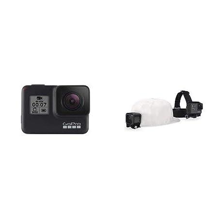 GoPro HERO7 Black /— Waterproof Digital Action Camera with Accessory Travel Kit