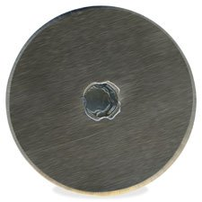 SureCut LED Rotary Trimmer Blade, 45mm, 2/PK, Silver, Sold as 1 Package, 2 Each per Package FISKARS MANUFACTURING CORP