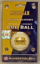 wave NCAA Cue Ball NCAA Team: Michigan
