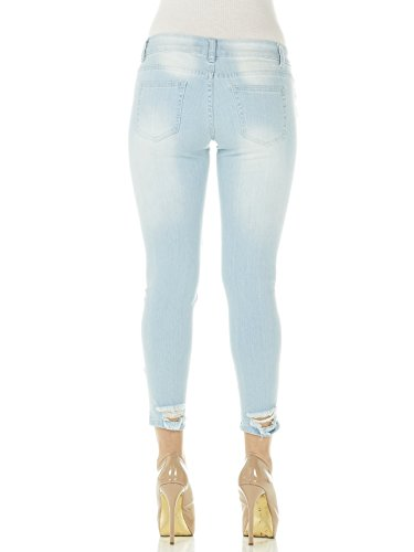 farve Cover Ripped Skinny Women's Sz Cropped Girl Jeans Vælg nwST6FxUqw