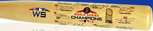Red Sox 2018 World Series Champions Team Signature Bat -