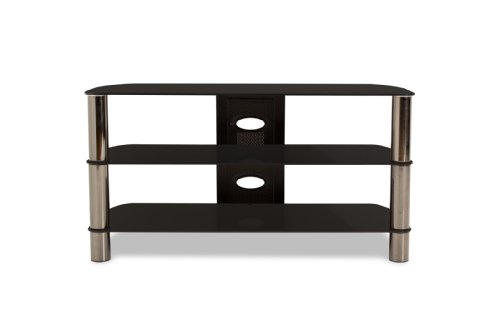 (TechCraft BEL501B 50-Inch Wide Flat Panel TV Stand - Black)