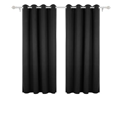 Deconovo Super Soft Thermal Insulated Window Treatment Bedroom Curtains...